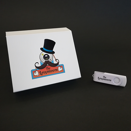 The Laughbooth USB-pakket (incl. 8GB Stick)